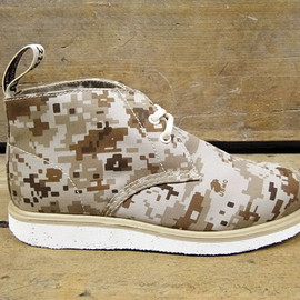 Dr. Martens, Foot Patrol - Camo Wedge Boot Collection