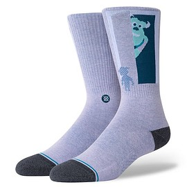 Stance - SULLY AND BOO PURPLE on Foot Form