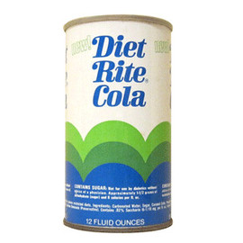 Diet Rite Cola - 355mL United States 1968