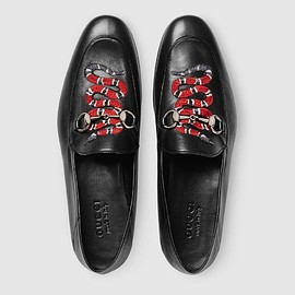 GUCCI - king snake loafers