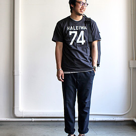 A VONTAGE - A Vontade アボンタージ US Cotton Tube Pocket T-Shirt