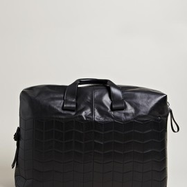 Lanvin - Lanvin Men's Paper Effect Weekend Bag