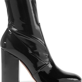 Valentino - Patent-leather ankle boots