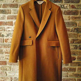 SUNSEA - Cut Off Melton Coat