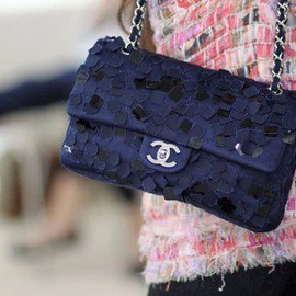 CHANEL - bag/navy
