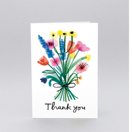Charlotte Trounce - 'Thank You Bouquet' Greetings Card