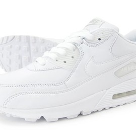 Nike - AIR MAX 90 White Leather