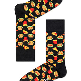 Happy Socks - HAMBURGER SOCK