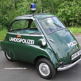 BMW - Isetta 250 Police Car