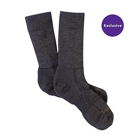 patagonia - MW MERINO HIKING CREW SOCKS, Forge Grey (FGE-961)