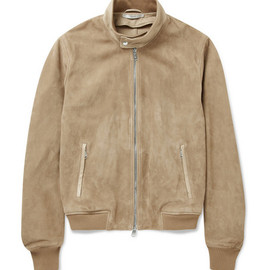 Yves Saint Laurent  - Suede Biker Jacket
