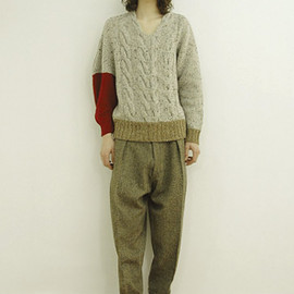 ORGANIC COTTON WRAPPED PANTS (ZOZOTOWN / CWLS LIMITED COLOR)