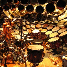 Terry Bozzio - Drum Set