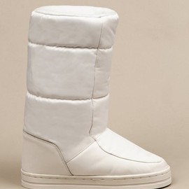 Terence Koh - white moon boot