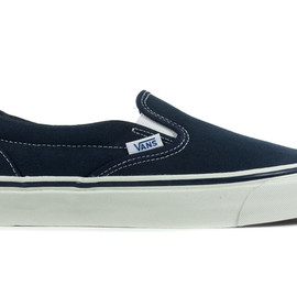 Vans Vault - Classic Slip-On LX navy
