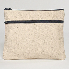 American Apparel - Cotton Canvas Make-Up Bag