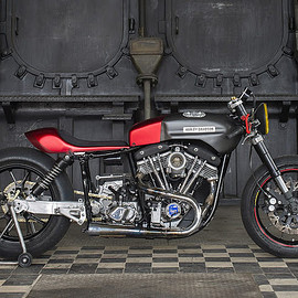 Tricana Motorcycles - 'Hot Racer' 83 Harley-Davidson FLH