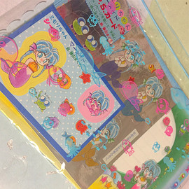 micromari - Stationery letter pack mermaid old stock mimori Vintage Retro Original Made in Japan