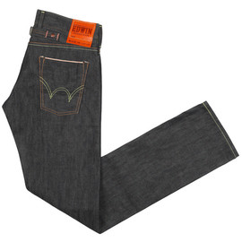 edwin - selvage skinny raw grey EDWIN SEN SELVAGE GREY RAW UNWASHED JEANS | TOBI 30% SALE + 10% VOUCHER