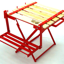 The Folding Three Stage Rack