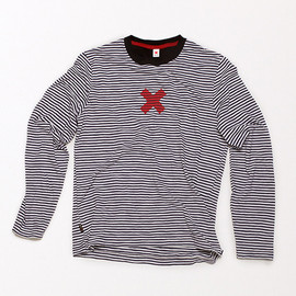 "Best Made Company - Long Sleeve T-Shirt 1/8"" Stripe"