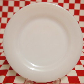 Fire King - White Restaurant Ware G297 Pie & Salad Plate