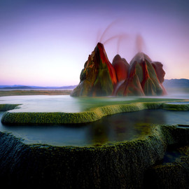 Nevada - Fly Geyser