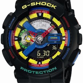 CASIO, Dee and Ricky - G-SHOCK: GA-110DR-1AJR
