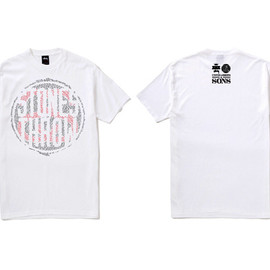 STUSSY, STONES THROW, UNITED ARROWS & SONS - T-Shirt (White)