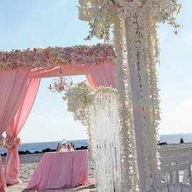 wedding - pink | beach wedding