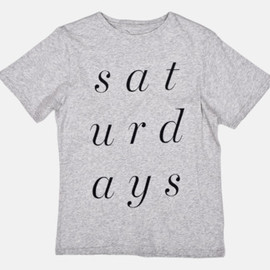 Saturdays - Double T-Shirt