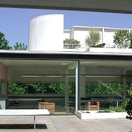 Le Corbusier - Rooftop at Villa Savoye, Poissy