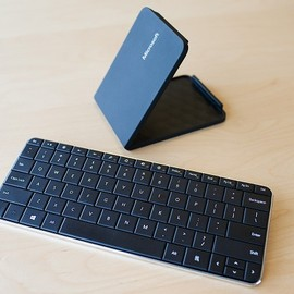 Microsoft - Wedge Mobile Keyboard(U6R-00022)