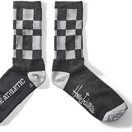 House Industries - Black Check Socks