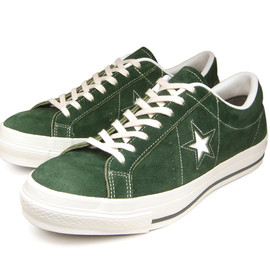 CONVERSE - ONE STAR J SUEDE (green)