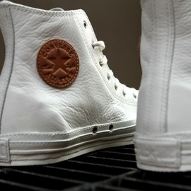 CONVERSE  - Chuck Taylor All Star  Premium White Leather | Spring 2012