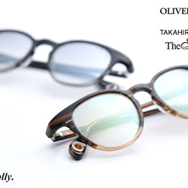 OLIVER PEOPLES - for TAKAHIROMIYASHITA