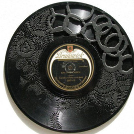 scott marr - 'records dark matter' carved record 25cm