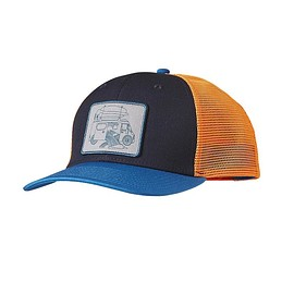 patagonia - Surf Van Trucker Hat - Navy Blue