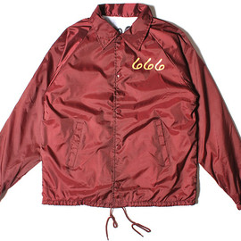 OFWGKTA - Maroon Cross Coach Jacket