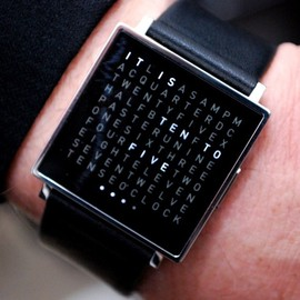 Marco Biegert And Andreas Funk - Qlocktwo Watch
