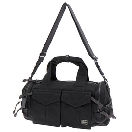 PORTER, PORTER PEACE - BOSTON BAG(M) BLACK