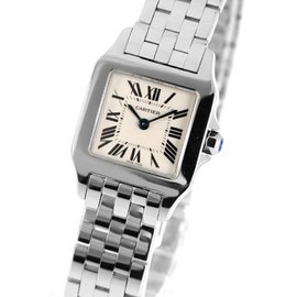 Cartier - SANTOS DEMOISELLE WATCH  #W25064Z5