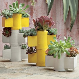 west elm - Stackable Totem Planter