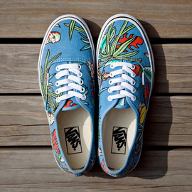 "VANS - Image of Vans California Van Doren Series 2013 Spring Authentic CA ""Parrot"""