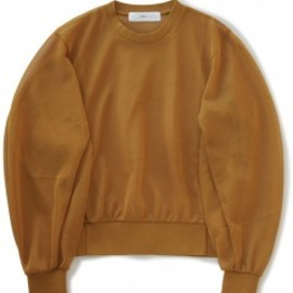 TOGA PULLA - High Twist Jersey Pullover (camel)