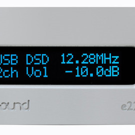exaSound Audio Design Japan - 'e22' - 32bit/384kHz PCM & 12.288MHz DSD USB DAC & Headphone Amplifier