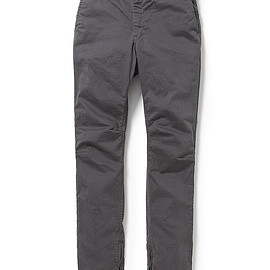 nonnative - EXPLORER JEANS DROPPED FIT SATIN STRETCH OVERDYED
