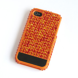 Lucien Elements - First Edition iPhone4 Case (Orange)