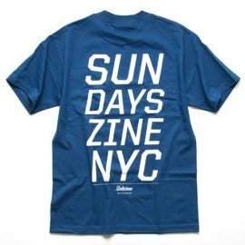 DELICIOUS ORIGINAL - Sundays Zine by Delicious Original Logo Tee